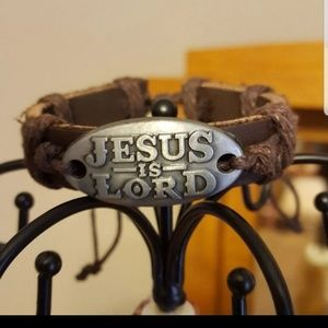 Jesus is Lord Bracelet